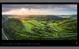 Panoramatický krajinářský kalendář 2022