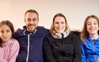 Invalidní pomůcky pro Leopolda - Dcera Zuzana s rodinou