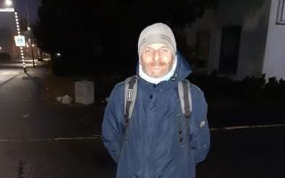 Nový začátek pro pana Roberta, který je bez domova