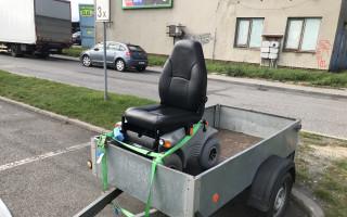 Přispěli jste Broně na elektrický vozík