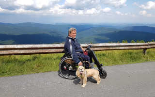 Elektrický pohon k vozíku pro Vláďu