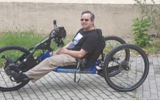 Handbike pro Honzu - možnost začít sportovat