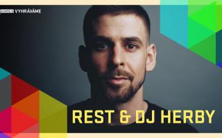 Vyhráváme:  Rest & DJ Herby (10. 4. od 20:00)