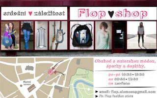 Podpořte prostřednictvím olomouckého Flop shopu české a slovenské designéry