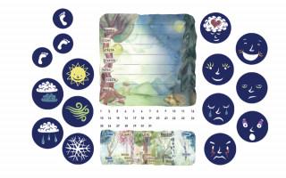 Plánovací kalendář pro děti