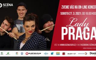 Koncert Lady Praga 27. 3. 2021