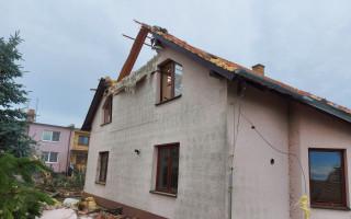 Pomoc po tornádu pro Brůčkovi z Moravské Nové Vsi