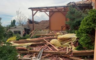 Pomoc pro Vajbarovy z Moravské Nové Vsi, kterým tornádo vzalo domov