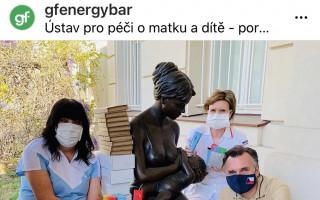gfBar 2 - zdravá energetická tyčinka - zbavíme svět únavy