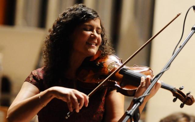 Koncert Iva Bittová na vlnách Dunaje #kulturažije