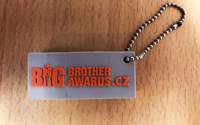 Flash disk Big Brother Awards