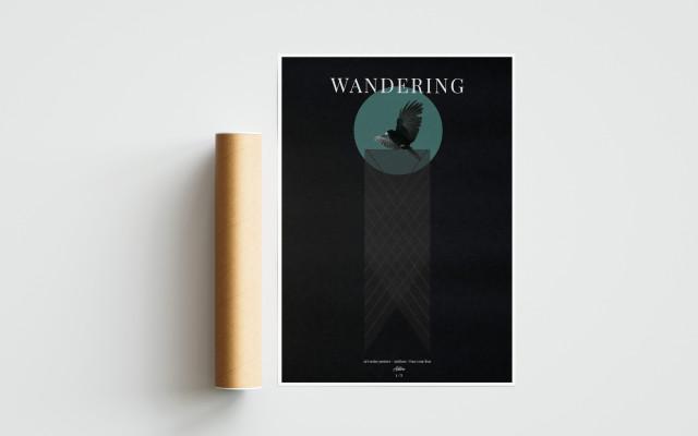 Autorský plakát Wandering