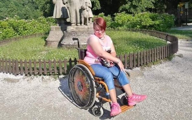Aktivní mechanický vozík pro Michaelu