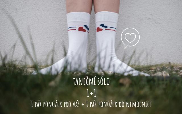 Taneční sólo - 1 + 1 pár ponožek