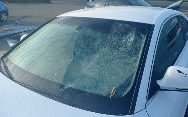Pomoc pro Filipa Gazdíka, kterému tornádo zničilo automobil