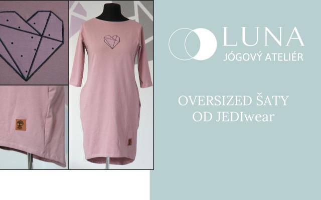 Oversized šaty od JEDIwear