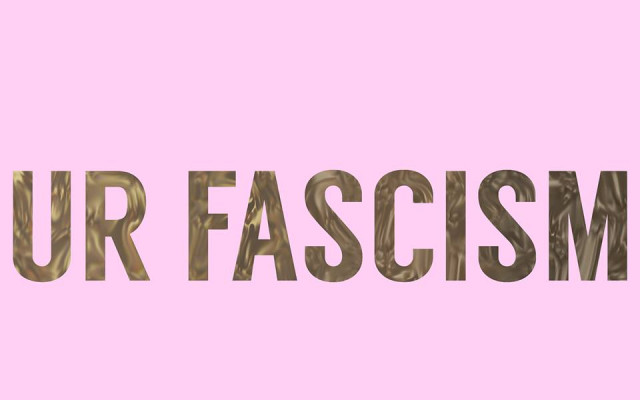 Podpořte autorský projekt Jakuba Gottwalda UR FASCISM #kulturažije