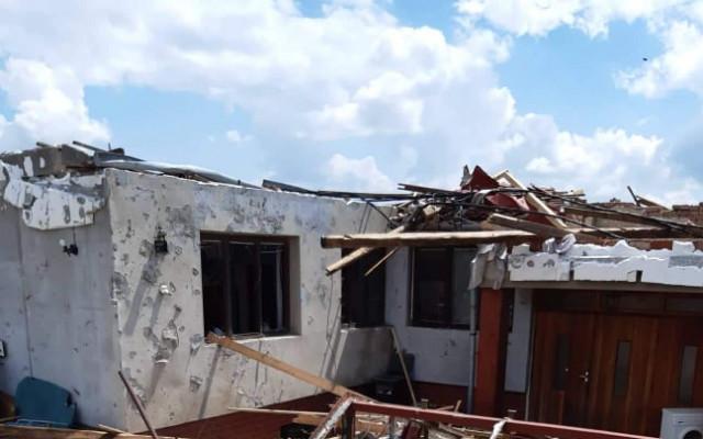 Pomoc pro rodinu Iršových z Mikulčic, které tornádo zničilo domov