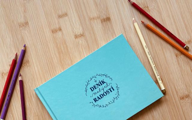 Deník malých radostí sosobním vyzvednutím vPraze pro 50 nejrychlejších
