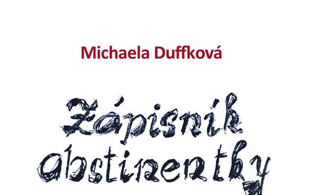 Kniha Zápisník abstinentky s podpisem