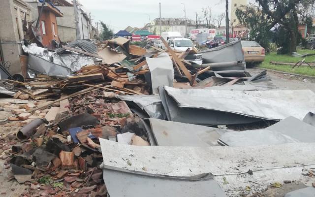 Pomohli jste s obnovou dílny, kterou zničilo tornádo