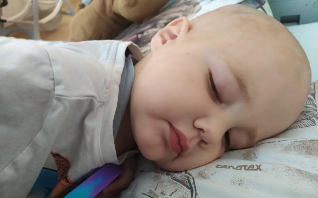 Pomozme Viktorkovi s akutní lymfoblastickou leukémií
