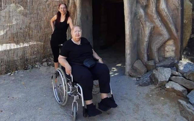 Invalidní vozíček pro maminku