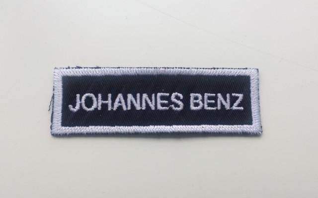 Vstupenka na křest desky Space Tramp + nášivka Johannes Benz /made in U.S.A./
