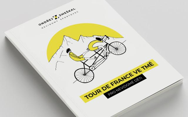 """Deník """"Tour de France ve tmě"""" – tištěná publikace"""