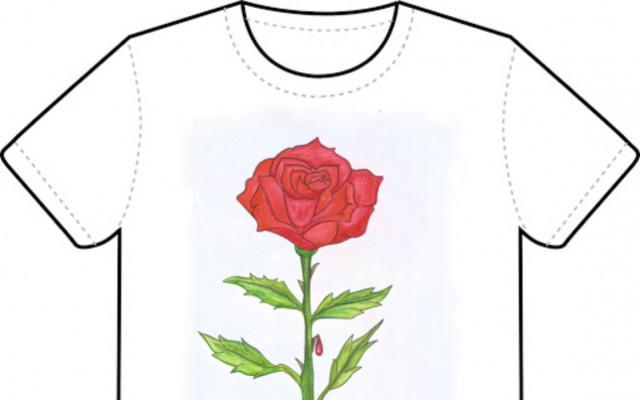 Tričko Sladké děti Růže (bez poštovného)