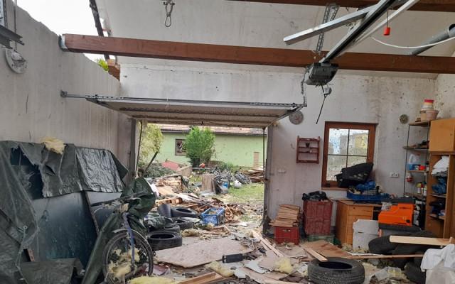 Pomohli jste rodině Nedůchalových z Moravské Nové Vsi, jejichž dům poničilo tornádo