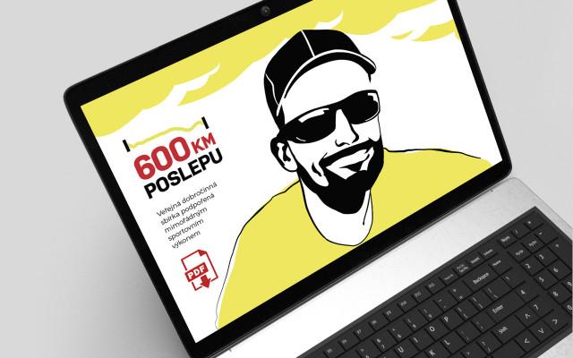 """Deník """"600 km poslepu"""" – elektronická publikace v PDF"""