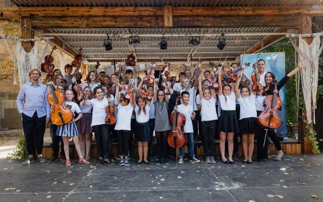 Přijďte si s námi zahrát: koncert orchestru Nadačního fondu Harmonie