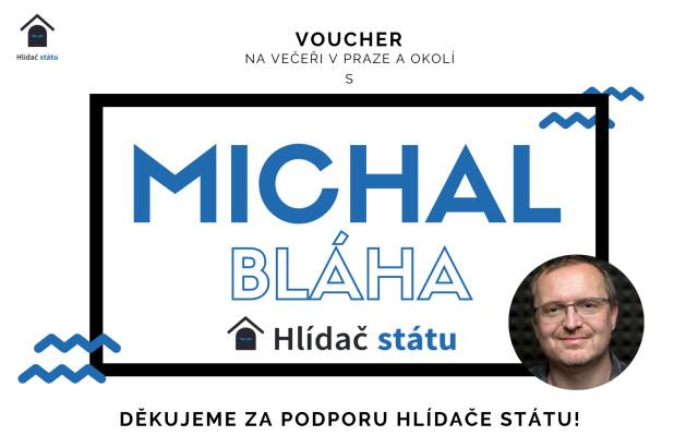 Setkání s Michalem Bláhou