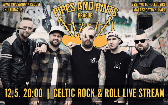 PIPES AND PINTS live stream