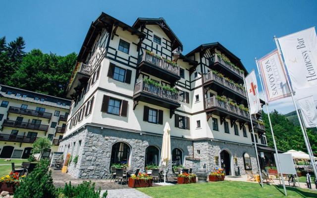 Dvoudenní exkluzivní wellness pobyt v Hotelu Savoy ve Špindlerově Mlýně za výhodnou cenu - pro 2 osoby