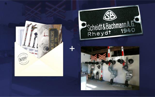 Poděkování předsedy spolku v listinné podobě + pohlednice + samolepky + magnetka + fotoobraz A3 + replika výrobního štítku + možnost prohlídky depozitáře