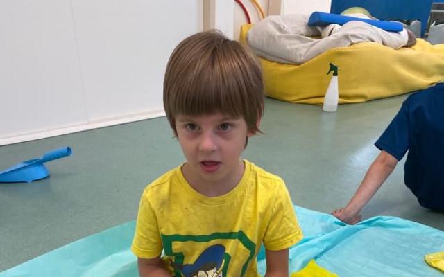 Neurosenzorické terapie pro Adámka