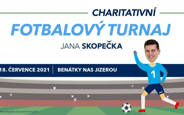 Charitativní fotbalový turnaj Jana Skopečka v Benátkách nad Jizerou