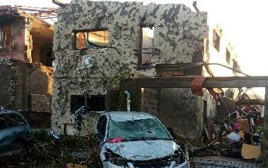 Pomohli jste Husovským opravit dům, který zničilo tornádo