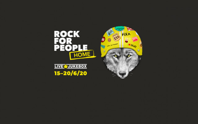 Rock for People Home: jedinečný online přenos 20. 6. 2020