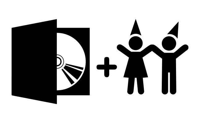 Fyzické CD Černá a bílá + vstup na křest pro dvě osoby v Praze