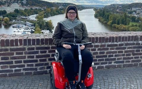 Speciální vozík pro Káťu