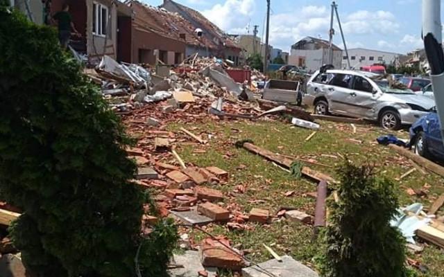 Pomoc Svobodovým, kterým tornádo zničilo domov