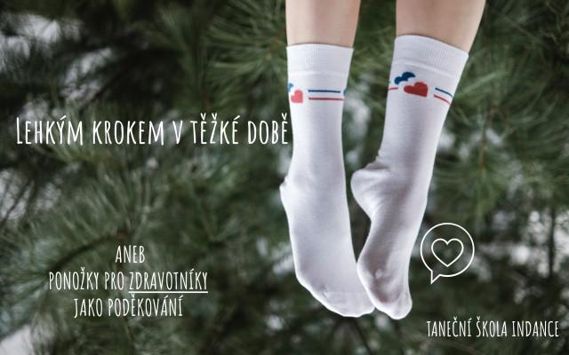 Ponožky pro zdravotníky - Lehkým krokem v těžké době!