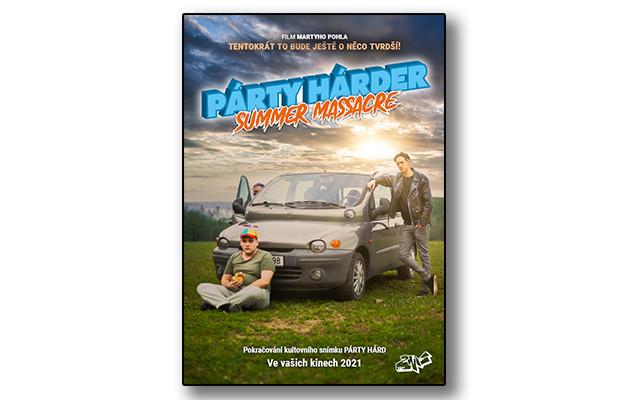 Filmový plakát s podpisy