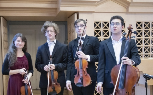 Podpořte mladé hudebníky smyčcového kvarteta