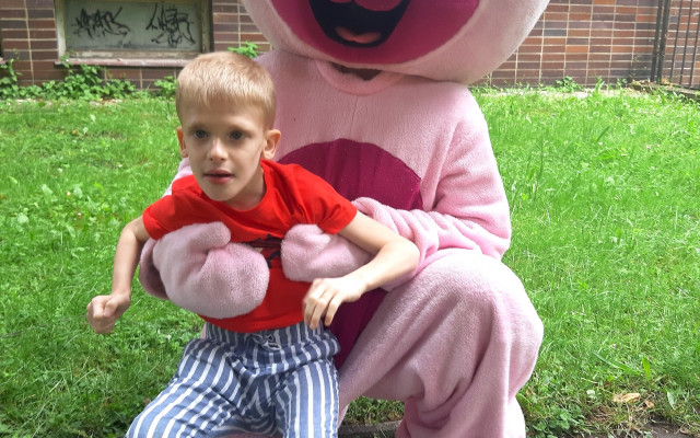 Pomoc pro vzácného Maximka s Mowat-Wilson syndromem