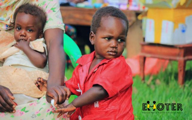 Obrázek od dětí z Ugandy