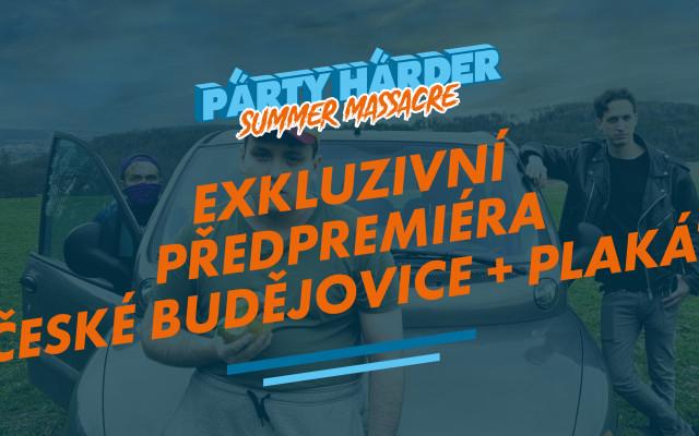 Exkluzivní předpremiéra České Budějovice + plakát